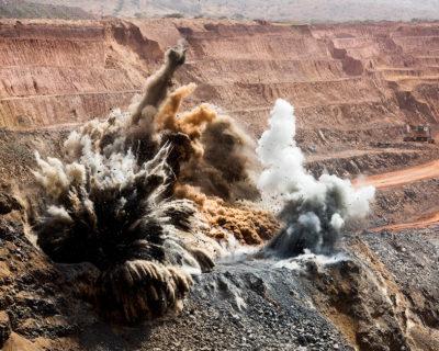 Б.12.2. Взрывные работы на открытых горных разработках и специальные взрывные работы